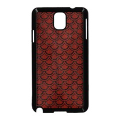 Scales2 Black Marble & Reddish Brown Wood Samsung Galaxy Note 3 Neo Hardshell Case (black) by trendistuff