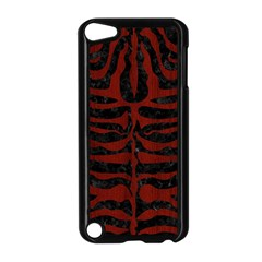 Skin2 Black Marble & Reddish Brown Wood (r) Apple Ipod Touch 5 Case (black) by trendistuff