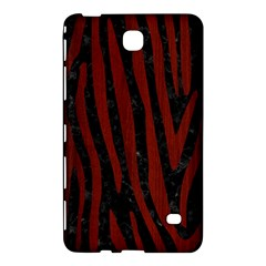 Skin4 Black Marble & Reddish Brown Wood Samsung Galaxy Tab 4 (7 ) Hardshell Case  by trendistuff