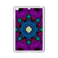 Sunshine Mandala And Fantasy Snow Floral Ipad Mini 2 Enamel Coated Cases by pepitasart