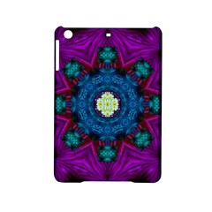 Sunshine Mandala And Fantasy Snow Floral Ipad Mini 2 Hardshell Cases by pepitasart