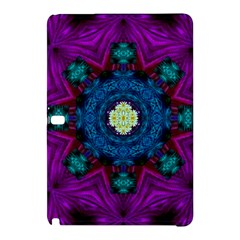 Sunshine Mandala And Fantasy Snow Floral Samsung Galaxy Tab Pro 10 1 Hardshell Case by pepitasart