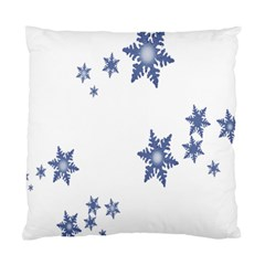 Star Snow Blue Rain Cool Standard Cushion Case (one Side)