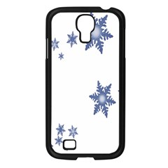 Star Snow Blue Rain Cool Samsung Galaxy S4 I9500/ I9505 Case (black) by AnjaniArt