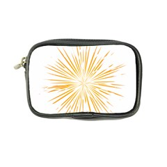 Fireworks Light Yellow Space Happy New Year Coin Purse by AnjaniArt