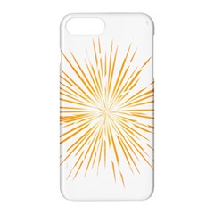 Fireworks Light Yellow Space Happy New Year Apple Iphone 7 Plus Hardshell Case