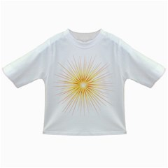 Fireworks Light Yellow Space Happy New Year Red Infant/toddler T Shirts
