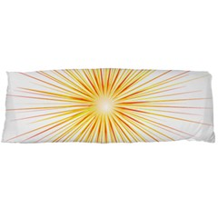 Fireworks Light Yellow Space Happy New Year Red Body Pillow Case Dakimakura (two Sides) by AnjaniArt