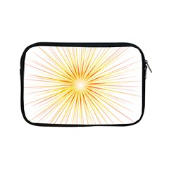 Fireworks Light Yellow Space Happy New Year Red Apple Ipad Mini Zipper Cases