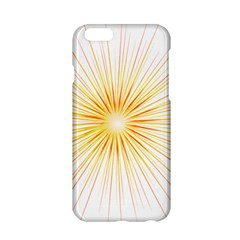 Fireworks Light Yellow Space Happy New Year Red Apple Iphone 6/6s Hardshell Case