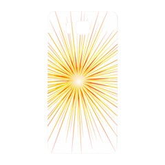 Fireworks Light Yellow Space Happy New Year Red Samsung Galaxy Alpha Hardshell Back Case