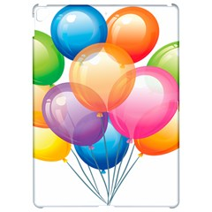 Birthday Happy New Year Balloons Rainbow Apple Ipad Pro 12 9   Hardshell Case by AnjaniArt