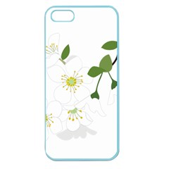 Flower Floral Sakura Apple Seamless Iphone 5 Case (color) by AnjaniArt