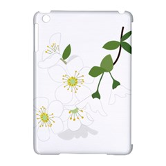 Flower Floral Sakura Apple Ipad Mini Hardshell Case (compatible With Smart Cover) by AnjaniArt