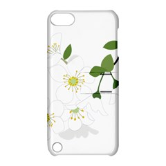 Flower Floral Sakura Apple Ipod Touch 5 Hardshell Case With Stand by AnjaniArt
