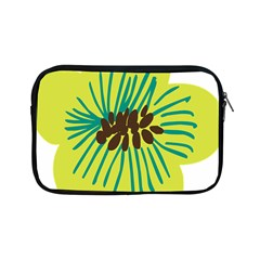 Flower Floral Green Apple Ipad Mini Zipper Cases by AnjaniArt
