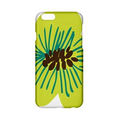 Flower Floral Green Apple Iphone 6/6s Hardshell Case by AnjaniArt