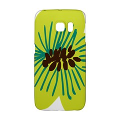 Flower Floral Green Galaxy S6 Edge by AnjaniArt