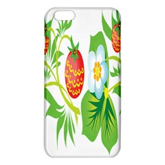 Fruit Flower Leaf Red White Green Starflower Iphone 6 Plus/6s Plus Tpu Case by AnjaniArt