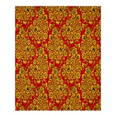Flower Rose Red Yellow Sexy Shower Curtain 60  X 72  (medium)  by AnjaniArt