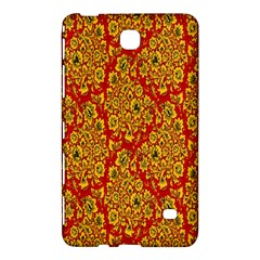 Flower Rose Red Yellow Sexy Samsung Galaxy Tab 4 (8 ) Hardshell Case  by AnjaniArt