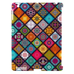 Flower Star Sign Rainbow Sexy Plaid Chevron Wave Apple Ipad 3/4 Hardshell Case (compatible With Smart Cover) by AnjaniArt