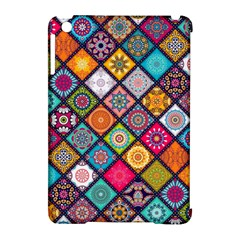 Flower Star Sign Rainbow Sexy Plaid Chevron Wave Apple Ipad Mini Hardshell Case (compatible With Smart Cover) by AnjaniArt