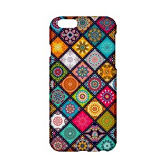 Flower Star Sign Rainbow Sexy Plaid Chevron Wave Apple Iphone 6/6s Hardshell Case by AnjaniArt