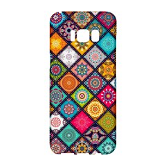 Flower Star Sign Rainbow Sexy Plaid Chevron Wave Samsung Galaxy S8 Hardshell Case  by AnjaniArt