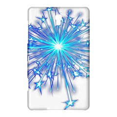 Fireworks Sky Blue Silver Light Star Sexy Samsung Galaxy Tab S (8 4 ) Hardshell Case  by AnjaniArt