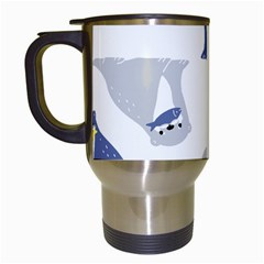 Seals Sea Lions Animals Fish Travel Mugs (white) by AnjaniArt
