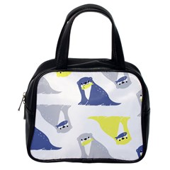 Seals Sea Lions Animals Fish Classic Handbags (one Side) by AnjaniArt