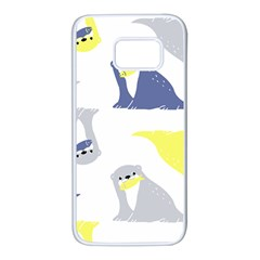 Seals Sea Lions Animals Fish Samsung Galaxy S7 White Seamless Case