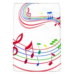 Rainbow Red Green Yellow Music Tones Notes Rhythms Flap Covers (l)  by AnjaniArt