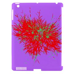 Spot Paint Red Green Purple Sexy Apple Ipad 3/4 Hardshell Case (compatible With Smart Cover)