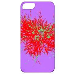 Spot Paint Red Green Purple Sexy Apple Iphone 5 Classic Hardshell Case by AnjaniArt