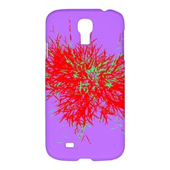 Spot Paint Red Green Purple Sexy Samsung Galaxy S4 I9500/i9505 Hardshell Case