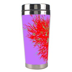 Spot Paint Red Green Purple Sexy Stainless Steel Travel Tumblers by AnjaniArt