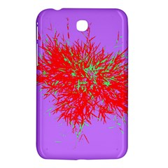 Spot Paint Red Green Purple Sexy Samsung Galaxy Tab 3 (7 ) P3200 Hardshell Case  by AnjaniArt