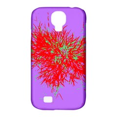 Spot Paint Red Green Purple Sexy Samsung Galaxy S4 Classic Hardshell Case (pc+silicone)