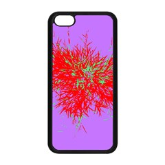 Spot Paint Red Green Purple Sexy Apple Iphone 5c Seamless Case (black) by AnjaniArt