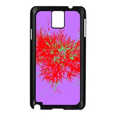Spot Paint Red Green Purple Sexy Samsung Galaxy Note 3 N9005 Case (black)