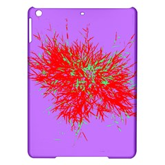 Spot Paint Red Green Purple Sexy Ipad Air Hardshell Cases by AnjaniArt