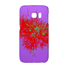 Spot Paint Red Green Purple Sexy Galaxy S6 Edge by AnjaniArt