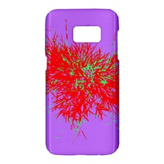 Spot Paint Red Green Purple Sexy Samsung Galaxy S7 Hardshell Case  by AnjaniArt