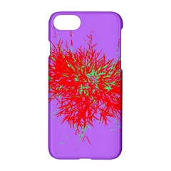 Spot Paint Red Green Purple Sexy Apple Iphone 7 Hardshell Case by AnjaniArt