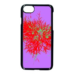 Spot Paint Red Green Purple Sexy Apple Iphone 7 Seamless Case (black) by AnjaniArt