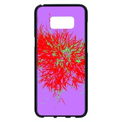 Spot Paint Red Green Purple Sexy Samsung Galaxy S8 Plus Black Seamless Case