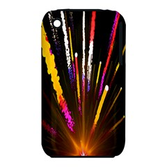 Seamless Colorful Light Fireworks Sky Black Ultra Iphone 3s/3gs