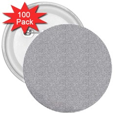 Line Black White Camuflage Polka Dots 3  Buttons (100 Pack)